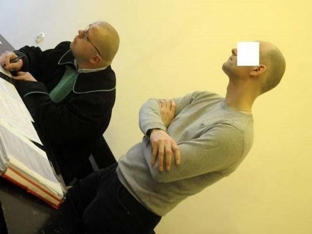 Sędzia chce na jednej sali widzieć Grzegorza Kloskę i Tomasza G (na zdj.). Wyrok zapadnie 10 kwietnia.