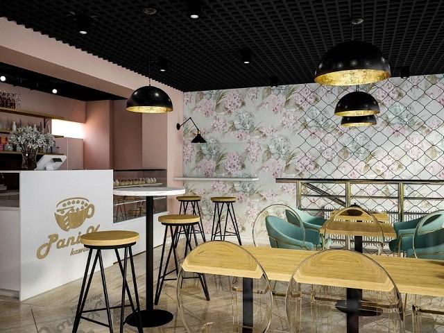 Modne wnętrze i cała lodówka słodkich ciast! Pani K to nowa kawiarnia w centrum Białegostoku.