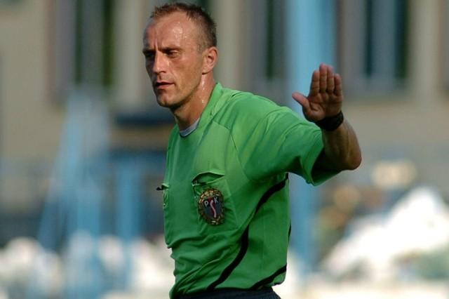 Witold Kwaśny nadal będzie prowadził mecze w III lidze.