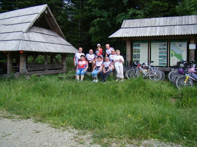 Bydgoszczanie spotykali w Bieszczadach rowerzystów, ale tym razem góry przemierzali pieszo