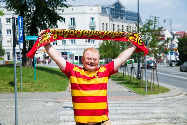 Każdy kibic, nieważne niepełnosprawny czy nie powinien oglądać mecz w komfortowych warunkach - mówi Tomasz Olszewski, były pracownik stowarzyszenia Aktywni Białystok