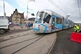 Szóstka i siódemka wracają na ul. Grodzką i Nowy Świat. Nowe rozjazdy tramwajowe w centrum Wrocławia są gotowe