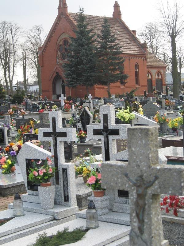 Cmentarz w Strzelcach.