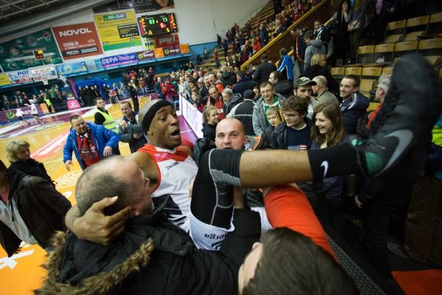 Jerel Blassingame był jednym z najlepszych zawodników Energi Czarnych w meczu z AZS Koszalin