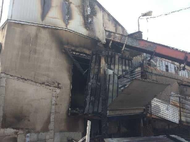 Fotorelacja pokazująca skutki pożaru w Gościeszynie