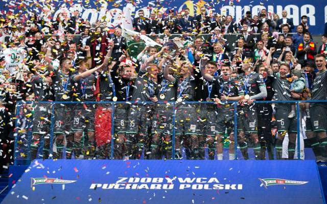 Tak Lechia świętowała zdobycie Pucharu w poprzednim sezonie