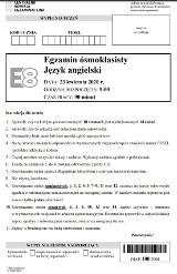 Egzamin ósmoklasisty 2020 - język angielski - ARKUSZ CKE, TRANSKRYPCJA