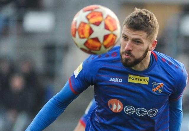 Piłkarz Odry Miłosz Trojak wyraził zgodę na publikację swoich danych i wizerunku w związku z wydanym oświadczeniem.