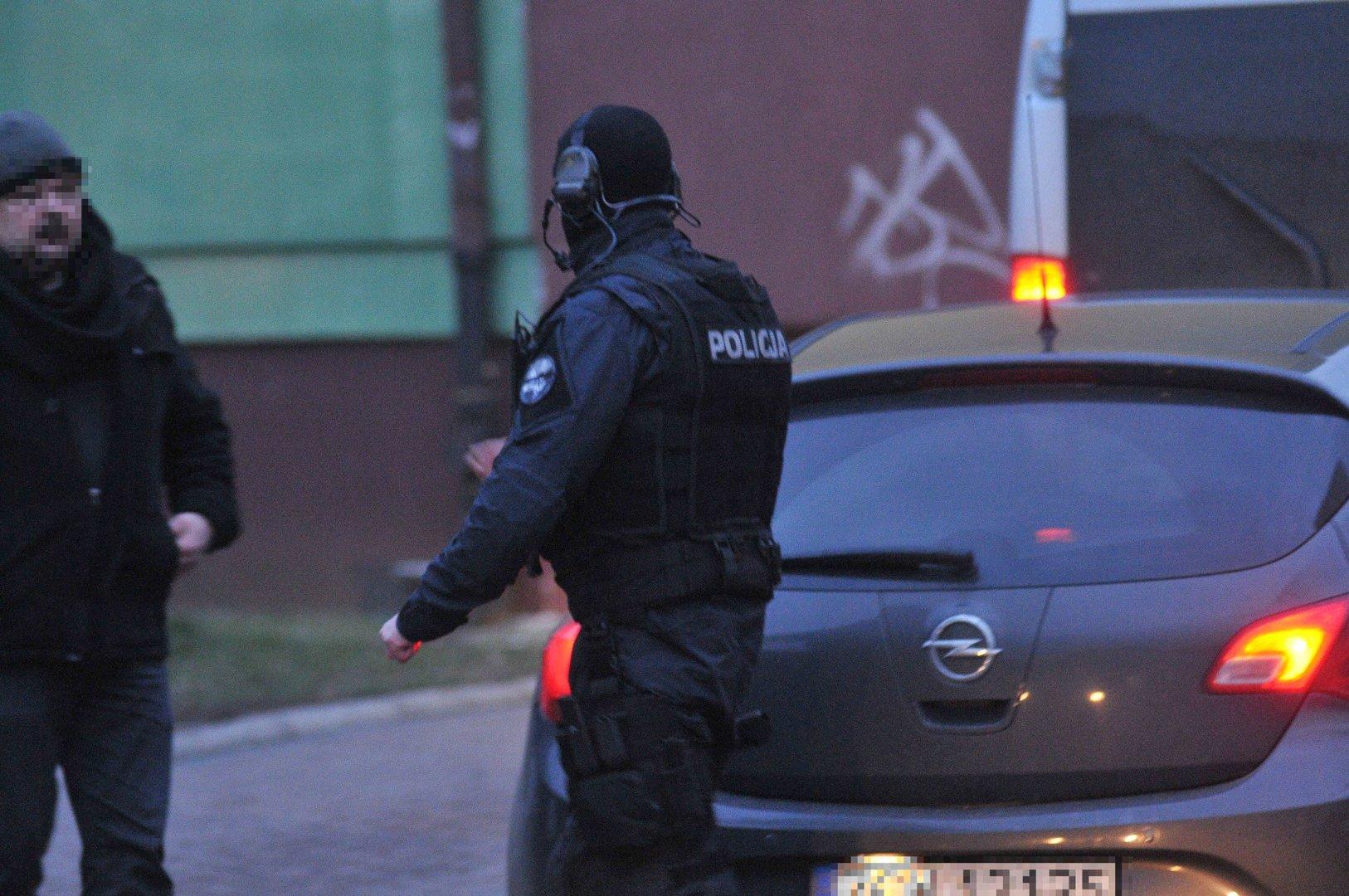 Akcja Policji W Centrum Kostrzyna Antyterroryści Zatrzymali