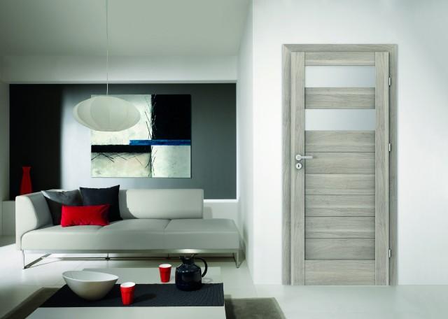 Prawidłowo dobrane drzwi to zwieńczenie ciekawego projektu wnętrza.