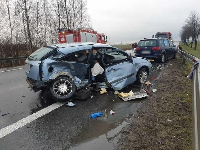 Do wypadku pod Brzegiem doszło 16 marca.