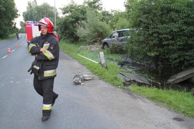 Wypadek na Bystrzyckiej we Wrocławiu