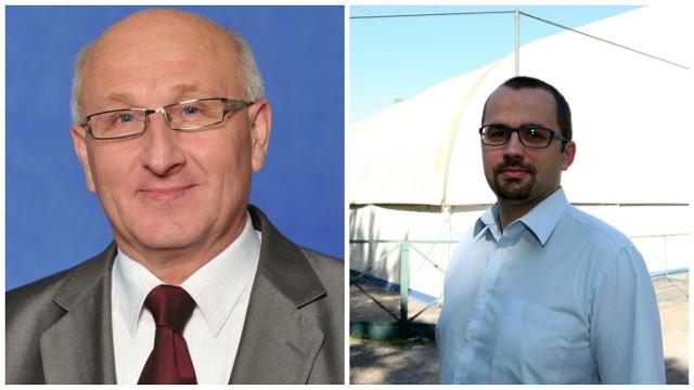 Jerzy Miotke i Marcin Horała