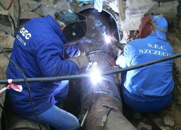 Pracownicy Szczecińskiej Energetyki Cieplnej będą usuwać awarięPracownicy Szczecińskiej Energetyki Cieplnej będą usuwać awarię przez kilkanaście godzin.