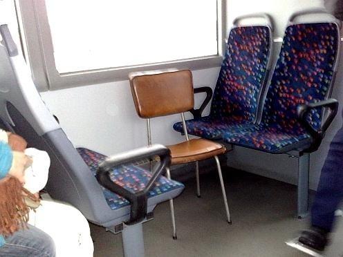 Sposób na zapewnienie większej liczby miejsc siedzących w pociągach