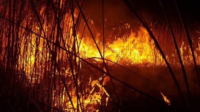 To była pracowita noc strażaków z OSP Sztabin.Zdjęcia dzięki uprzejmości OSP Sztabin