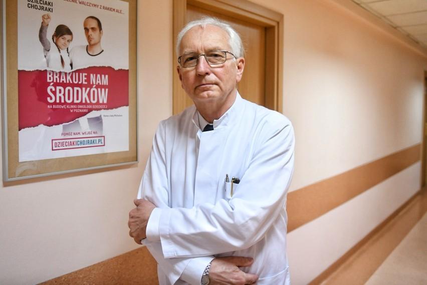Profesor Jacek Wachowiak poinformował co zakupiono ze...