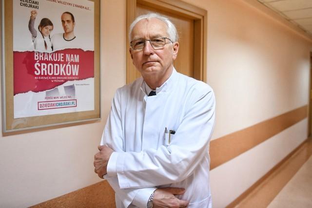 Profesor Jacek Wachowiak poinformował co zakupiono ze środków z ubiegłorocznego Tennia Art Cup
