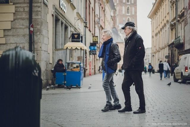 """W filmie """"Polański, Horowitz. Hometown"""" zobaczymy słynnego reżysera i fotografika, którzy spotykają się w Krakowie po raz pierwszy 70 lat od 70"""