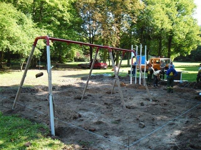 W parku pojawią się także zabawki dla osób niepełnosprawnych.