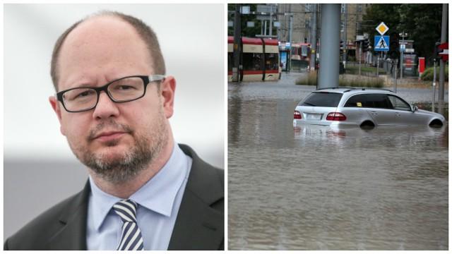 Powódź w Gdańsku spowodowała wiele szkód