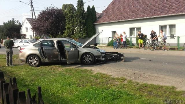 Do zdarzenia doszło na ulicy Lipowej. Jak informuje policja, jedna osoba odniosła obrażenia.