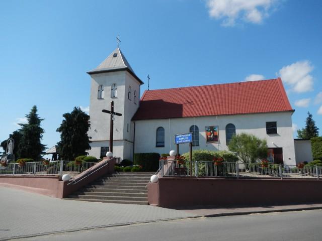 Kościół w Gościeszynie, sanktuarium maryjne