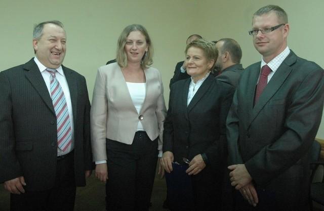 Rektor Stanisław Czaja (z lewej) liczy na dobrą współpracę w ukraińską uczelnią i studentów z tego miasta