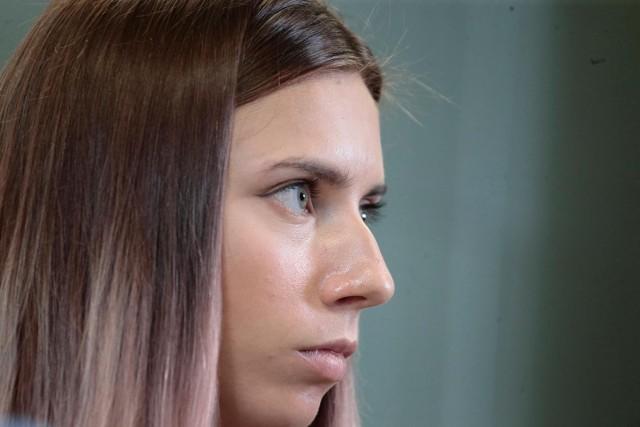 Białoruska biegaczka Kryscina Cimanouska od środy przebywa w Polsce.