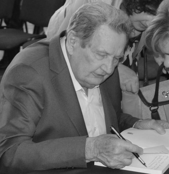 Marian Makarski w Proszowicach w 2016 roku