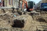 Brama miejska? Nowe ustalenia archeologów w sprawie murów pod skrzyżowaniem Krakowskie Przemieście, Racławickie, Lipowa