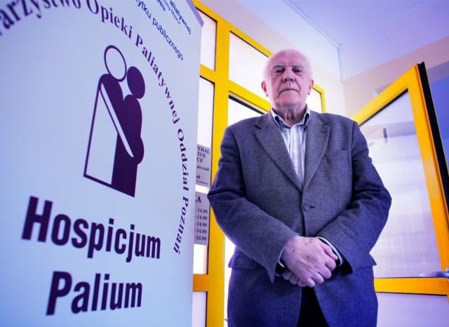 Prof. Jacek Łuczak, pierwszy laureat konkursu Wielkopolski Lekarza z Sercem