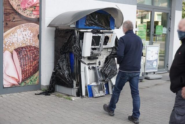 Znów złodzieje wysadzili w Łodzi bankomat. Tym razem zaatakowali na Górnej. Czytaj więcej na następnej stronie