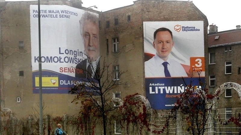 Na Razie Nie Będzie Kar Za Wiszące Plakaty Wyborcze Głos