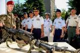 Kraków. Wojskowi z Japonii odwiedzili spadochroniarzy [ZDJĘCIA]