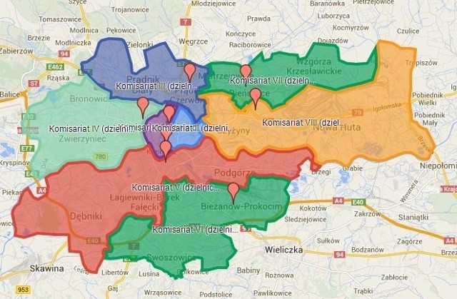 Krakow Sprawdz Ile Przestepstw Popelniono W Twojej Dzielnicy