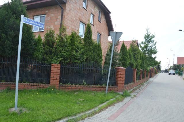 Ulica Żołnierzy Niezłomnych w Łowiczu