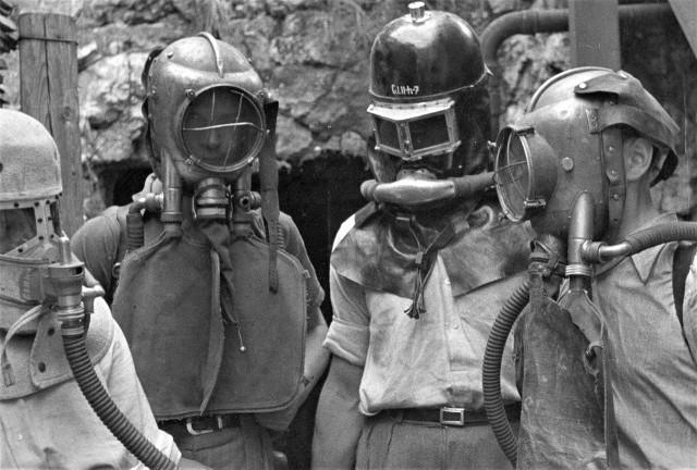Górnicy, lata 20 i 30 XX wieku