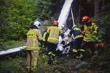 Awionetkę która wczoraj rozbiła się w Żernicy Wyżnej koło Leska, pilotował instruktor aeroklubu warszawskiego