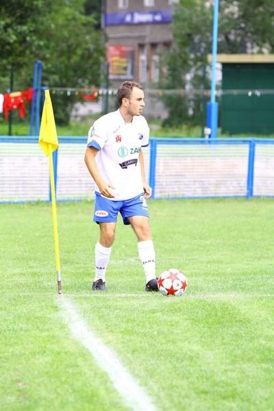 Karol Fryzowicz zdobył dwa gole dla MKS-u w Chojnicach.