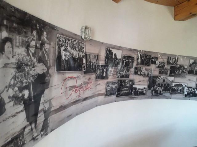Tak będzie wyglądała jedna ze ścian w Muzeum Chleba, które mieści się w zabytkowym wiatraku w Krasocinie.