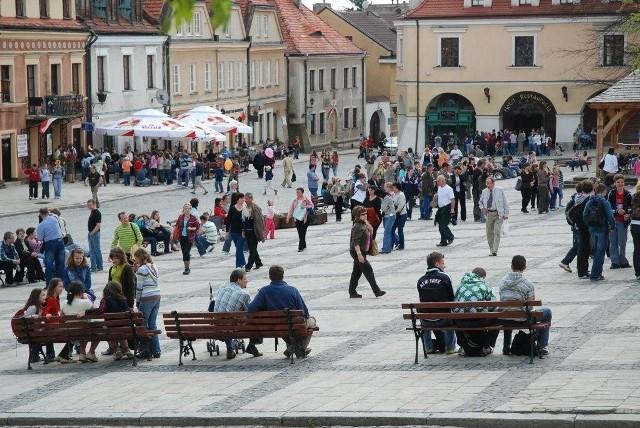 Sandomierz to jedno z miast, które skorzysta z unijnego programu turystycznej promocji województwa świętokrzyskiego