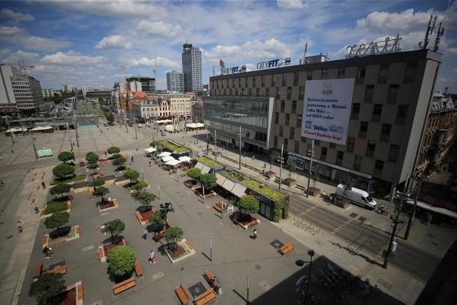 Plac Kwiatowy w Katowicach