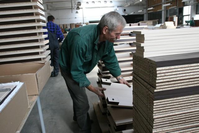 Największym problemem dla producentów mebli jest spadek zamówień z zagranicy (fot. A. Chomicz)