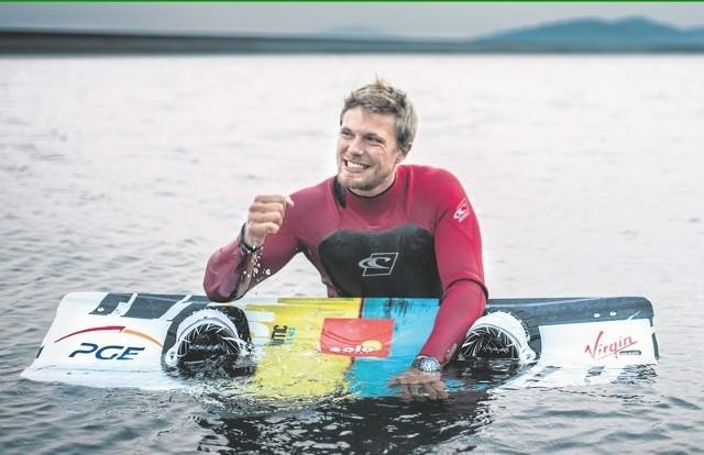 Jako pierwszy w Polsce, a może i na świecie, podejmę próbę uprawiania kitesurfingu na zbiorniku elektrowni - cieszy się Victor