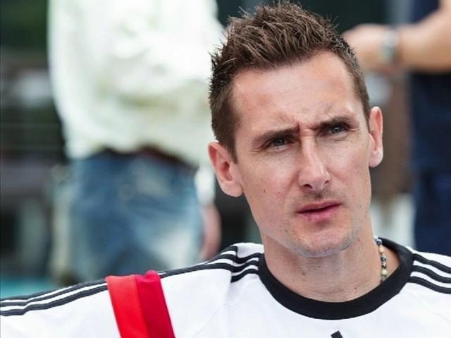 Miroslav Klose, urodzony w Opolu zawodnik reprezentacji Niemiec.