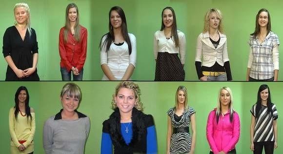 W konkursie staruje kilkanaście dziewcząt