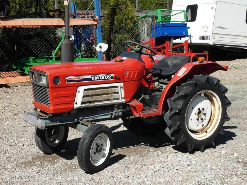 Yanmar YM1802 Traktorek 18KM Maszyna Komunalna...