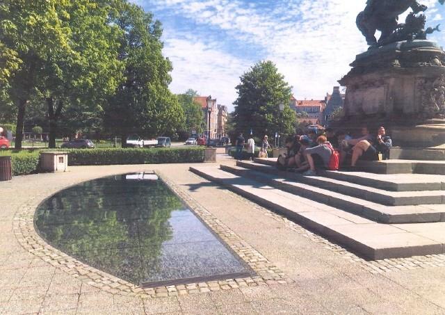 Tak będzie wyglądać fontanna przy pomniku Sobieskiego w Gdańsku