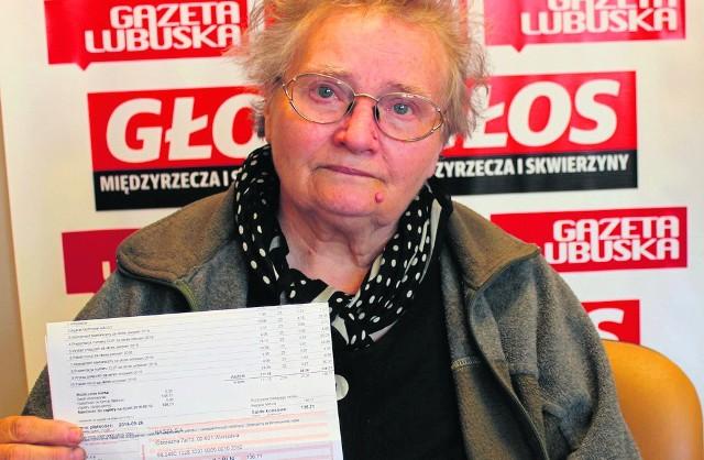 - Żyję ze skromnej emerytury. 137 zł to dla mnie sporo - mówi z żalem Maria Znamirowska.